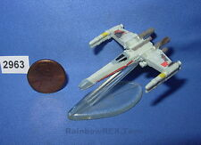 Star Wars Micro Machines X-Wing Blue Squadron Battle Damaged with stand