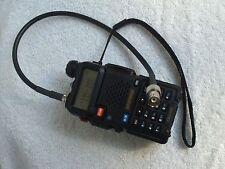 BNC-F pigtail for Icom, Yaesu, Kenwood & other radios W/SMA female conn.