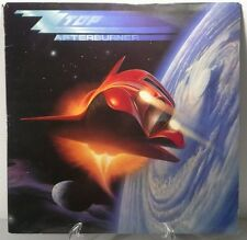 ZZ Top Afterburner Collectible 1st Edition Warner Bros. 1-25342 1985 G, VG