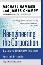 Reengineering the Corporation: A Manifesto for Business Revolution (Collins Busi