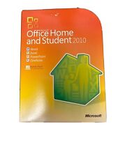 MICROSOFT OFFICE HOME & STUDENT 2010: WORD EXCEL POWER POINT & ONE NOTE