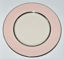 "Castleton China SHELL PINK Bread Plate, 6 1/4"" Across"