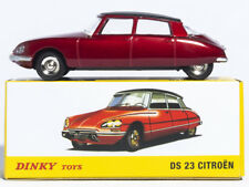Used 1:43 Atlas Dinky Toys 530 red Citroen DS 23 Diecast car model collection