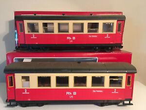 LGB 2 RHB passenger cars 3064
