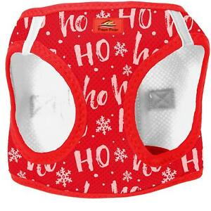 American River Holiday Choke Free Dog Harness All Styles for Christmas XXS-3XL