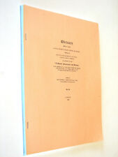 Obituary Prior to 1800 Musgrave England Scotland Ireland Genealogy history