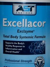 EXCELLACOR 180ct SYSTEMIC ENZYME,Reduces Excess Fibrin In Body, PAIN FIBROIDS