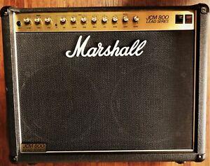 Marshall JCM 800 Lead Series 100 W Amp, Röhre, Gitarre, Case