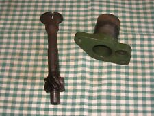 Austin Healey Frogeye Sprite: DISTRIBUTOR HOUSING and DRIVE SPINDLE, Used