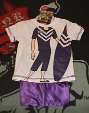 Fremantle Dockers AFL Boys Mascot Printed Cotton Satin Pyjama Set Size 00 New