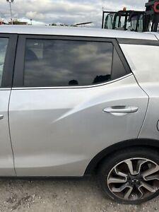 SSANGYONG TIVOLI MK1 2015-2021 NSR PASSENGER LEFT SIDE REAR DOOR IN SILVER