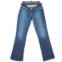 Lucky Brand Womens Sz 6/28 Blue Sweet Dream Jeans Dark Wash Distressed