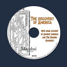 The discovery of America 1892 by John Fiske - Antique 2 PDF E-Books 1 Data DVD