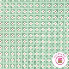 Moda BUMBLE BERRIES Mint Green Floral 25095 17 Lauren Jessi Jung QUILT FABRIC
