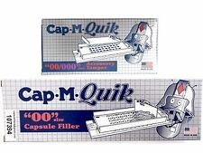CAP-M-QUIK Capsule Filling Machine /Filler & Tamping Tool/ Tamper Size '00' Caps