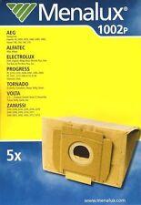 Menalux 1002P 5x sacs d'aspirateur Singer Tonic Force Volta Campus Ingenio