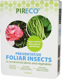 PIRECO Anti Blattschädlinge Anti Blattläuse weiße Fliege 2 x 24 Kapseln