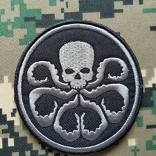 HYDRA Logo Of The Avengers Marvel Movie Comics Embroidered Patch Hook Loop Badge