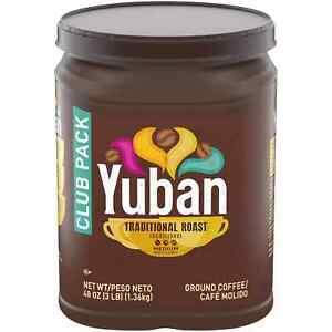 Yuban Ground Coffee, Traditional Roast (48 oz.) Free / Fast Shipping