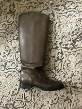 M+F Girbaud Leder Stiefel Boots Heather Lederstiefel 37