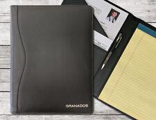 Personalized Genuine Leather Portfolio Folder
