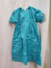 Mennonite Girls Dress Size 4 Light Blue