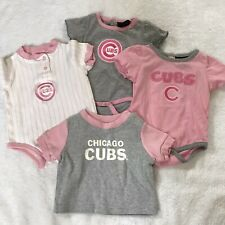 ADIDAS General Merch Chicago Cubs Baby Girl Lot Body Suits & Tshirt 0/3/6 Months