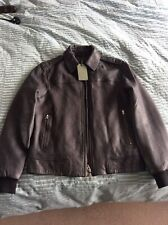 All Saints Mens Leather Jacket (Junction), BNWT, Size Small