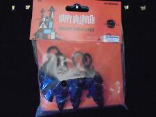 "4 Pack 5 1/2"" Black Mice Vinyl Figures Halloween Decoration Prank Gag Fake Prop"