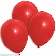 50 x latex red balloon wedding party helium air