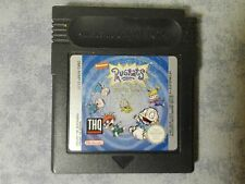 RUGRATS TIME TRAVELERS - NINTENDO GAME BOY GB, COLOR GBC, ADVANCE GBA - LOOSE