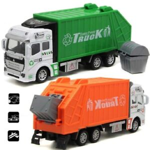 1:32 Garbage Truck Toy Car Juguete Educational Clean Trash Car Kids Toys Gifts