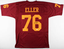 "Carl Eller Signed Minnesota Golden Gophers Jersey Inscribed ""Chof 06"" (Tse Coa)"