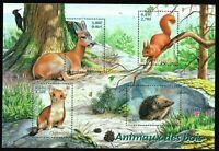Bloc Feuillet 2001 N°36 Timbres France Neufs - Animaux des Bois
