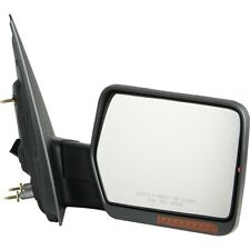 Pilot Power Heated Mirror Right Chrome/ Black Smooth/ Textured FD959410FRP
