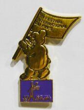 PINS BAR ROMAIN VILLARD DE LANS 38 FESTIVAL DU PIN'S OURS VIOLET STADIUM PARIS