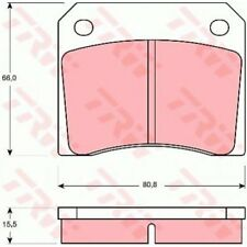 TRW Brake Pad Set, disc brake COTEC GDB557