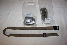USMC Brown Marine Combat Knife Leg Strap OKC Ontario Knife  M10 Lot of 3 Straps