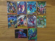 Lot of 10 Different - Marvel - ARCHANGEL Trading Cards