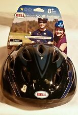BRAND NEW BELL Cycling YOUTH HELMET EDGE BLUE Blue/Black 55-57 Cm #1002820