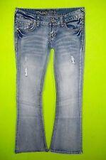 Rue 21 sz 1 / 2 Juniors Womens Blue Jeans Denim Pants Stretch EN31