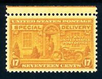 USAstamps Unused XF-Superb US Special Delivery Scott E18 OG MNH