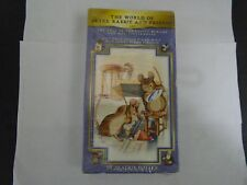 THE WORLD OF PETER RABBIT AND FRIENDS VHS NEW DOUBLE FEATURE