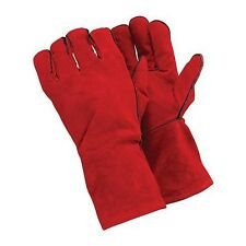 WELDERS GAUNTLETS PALM THICKNESS 1.2 MM GLOVES 330 MM SAFETY DIY WELDING P340