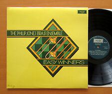 ZRG 895 Easy Winners The Philip Jones Brass Ensemble 1978 Argo Stereo NM/EX