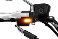 MAD - Paire de clignotant à LED fixation rétroviseur - moto custom harley & jap'