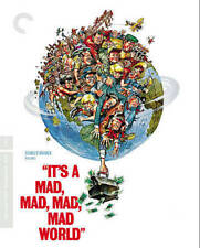 Its a Mad, Mad, Mad, Mad World (Blu-ray Disc, 2014, 5-Disc Set, Criterion...