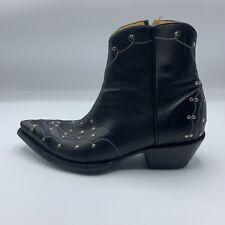 Old Gringo Studded Black Boot Size 6.5B