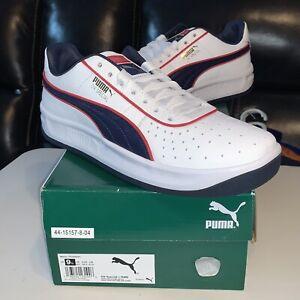 Puma GV Special + RWB 371795 01, White Blue Red USA 🇺🇸 Size 9.5