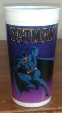 Batman Movie Taco Bell Plastic Purple Collector Cup Gotham City Pepsi 1989